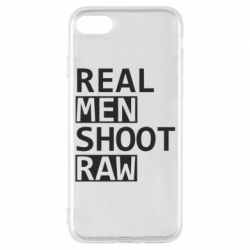 Чохол для iPhone 7 Real Men Shoot RAW