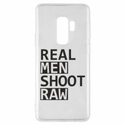 Чохол для Samsung S9+ Real Men Shoot RAW