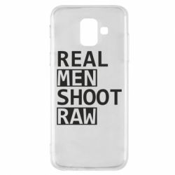 Чохол для Samsung A6 2018 Real Men Shoot RAW