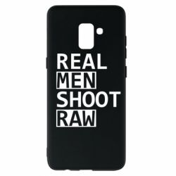 Чохол для Samsung A8+ 2018 Real Men Shoot RAW