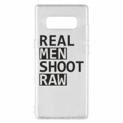 Чохол для Samsung Note 8 Real Men Shoot RAW