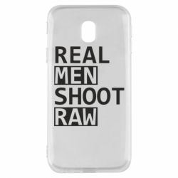 Чохол для Samsung J3 2017 Real Men Shoot RAW