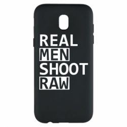 Чохол для Samsung J5 2017 Real Men Shoot RAW