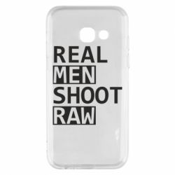 Чохол для Samsung A3 2017 Real Men Shoot RAW