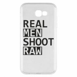 Чохол для Samsung A7 2017 Real Men Shoot RAW