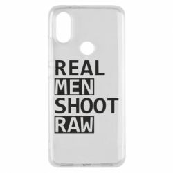 Чохол для Xiaomi Mi A2 Real Men Shoot RAW