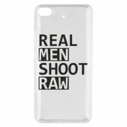 Чохол для Xiaomi Mi 5s Real Men Shoot RAW