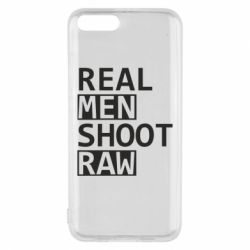 Чохол для Xiaomi Mi6 Real Men Shoot RAW