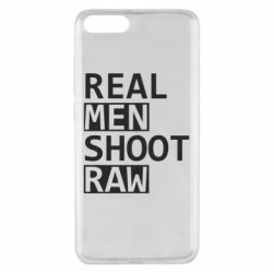 Чохол для Xiaomi Mi Note 3 Real Men Shoot RAW