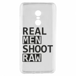 Чохол для Xiaomi Redmi Note 4 Real Men Shoot RAW