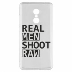 Чохол для Xiaomi Redmi Note 4x Real Men Shoot RAW