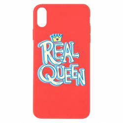Чехол для iPhone Xs Max Real queen