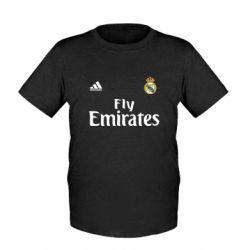 Детская футболка Реал - FatLine