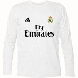 Футболка с длинным рукавом Реал - FatLine