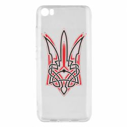Чехол для Xiaomi Mi5/Mi5 Pro Red and black coat of arms of Ukraine