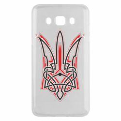Чехол для Samsung J5 2016 Red and black coat of arms of Ukraine