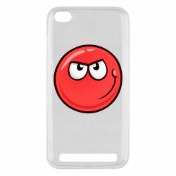 Чехол для Xiaomi Redmi 5A Red Ball game