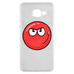 Чехол для Samsung A3 2016 Red Ball game