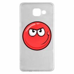 Чехол для Samsung A5 2016 Red Ball game