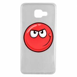 Чехол для Samsung A7 2016 Red Ball game