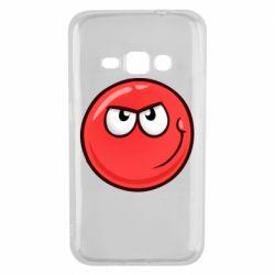 Чехол для Samsung J1 2016 Red Ball game