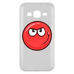Чехол для Samsung J2 2015 Red Ball game