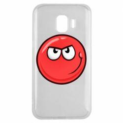 Чехол для Samsung J2 2018 Red Ball game
