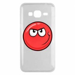 Чехол для Samsung J3 2016 Red Ball game