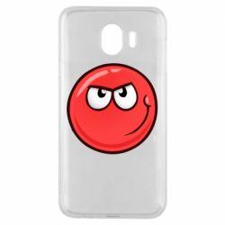 Чехол для Samsung J4 Red Ball game