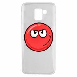 Чехол для Samsung J6 Red Ball game