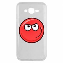 Чехол для Samsung J7 2015 Red Ball game