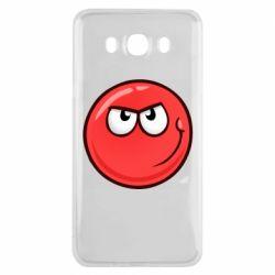 Чехол для Samsung J7 2016 Red Ball game