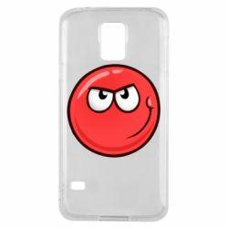 Чехол для Samsung S5 Red Ball game