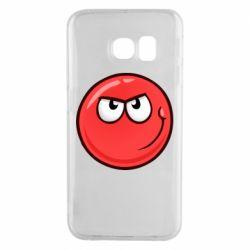 Чехол для Samsung S6 EDGE Red Ball game