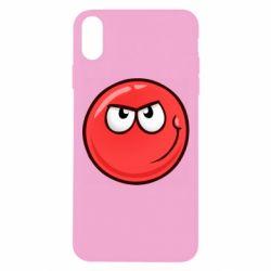 Чехол для iPhone Xs Max Red Ball game