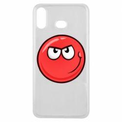 Чехол для Samsung A6s Red Ball game