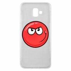 Чехол для Samsung J6 Plus 2018 Red Ball game