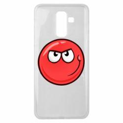Чехол для Samsung J8 2018 Red Ball game