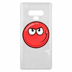 Чехол для Samsung Note 9 Red Ball game
