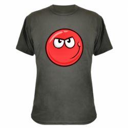 Камуфляжная футболка Red Ball game