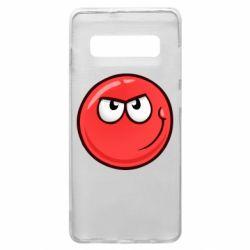 Чехол для Samsung S10+ Red Ball game