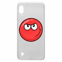 Чехол для Samsung A10 Red Ball game