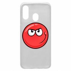 Чехол для Samsung A40 Red Ball game