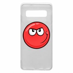 Чехол для Samsung S10 Red Ball game