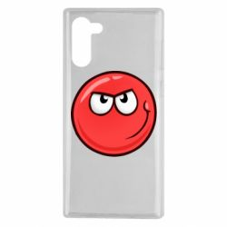 Чехол для Samsung Note 10 Red Ball game