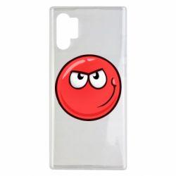 Чехол для Samsung Note 10 Plus Red Ball game