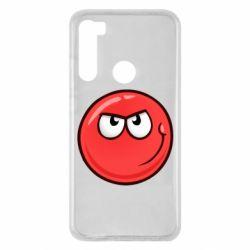 Чехол для Xiaomi Redmi Note 8 Red Ball game