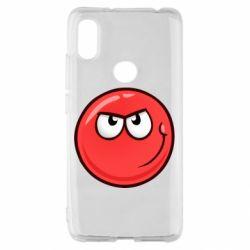 Чехол для Xiaomi Redmi S2 Red Ball game