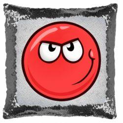 Подушка-хамелеон Red Ball game