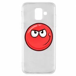 Чехол для Samsung A6 2018 Red Ball game